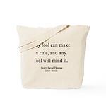 Henry David Thoreau 11 Tote Bag