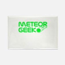 Meteor Geek Rectangle Magnet (10 pack)