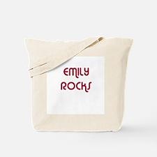 EMILY ROCKS Tote Bag
