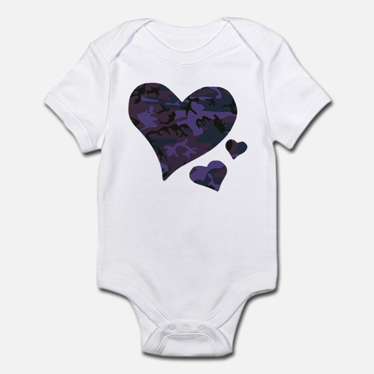 Purple Camo Baby Clothes & Gifts