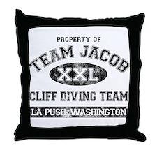 Property of Team Jacob Throw Pillow