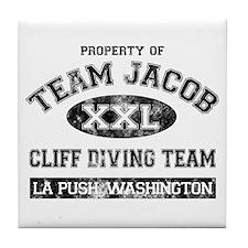 Property of Team Jacob Tile Coaster