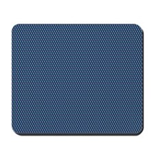 Blue Qbert Pattern Mousepad