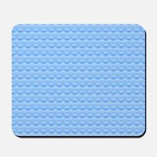 Blue Pattern Mousepad