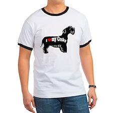 cesky terrier love T