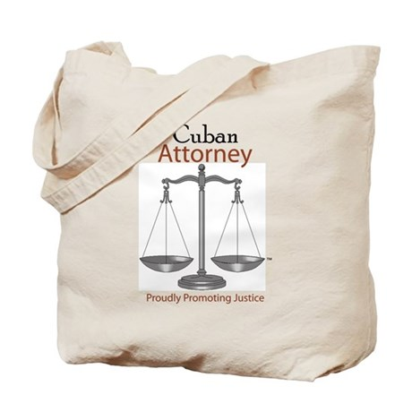 Cuban Attorney Tote Bag