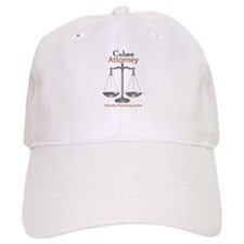 Cuban Attorney Baseball Cap