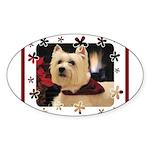 Humphrey 1 Oval Sticker