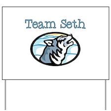 Team Seth Wolf Yard Sign