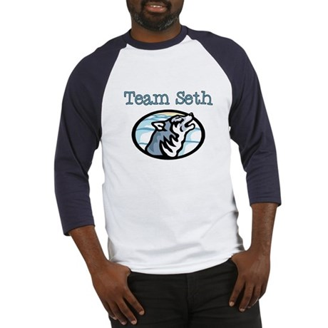 Team Seth Wolf Baseball Jersey