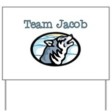 Team Jacob Wolf Yard Sign