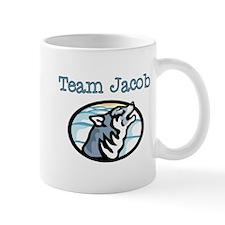 Team Jacob Wolf Mug