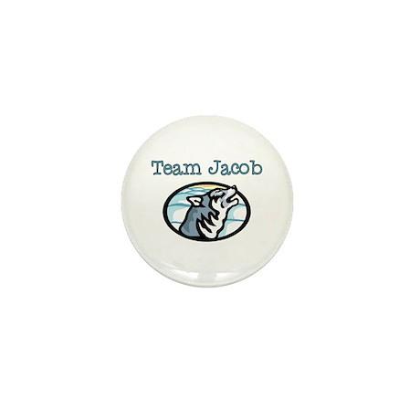 Team Jacob Wolf Mini Button