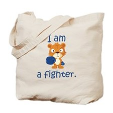 Teddy Bear Fighter Tote Bag