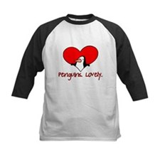 Penguins Lovely Heart Tee