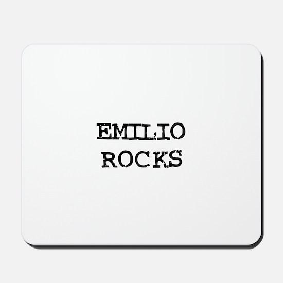 EMILIO ROCKS Mousepad