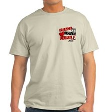 PEACE LOVE CURE AIDS (L1) T-Shirt