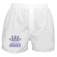 Queen Of The Court Volleyball Boxer Shorts