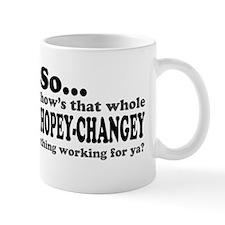 It's a Hopey-Changey Thing Small Mug