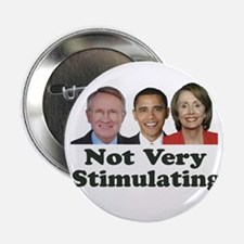"""Not Very Stimulating 2.25"""" Button"""