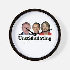 Unstimulating Wall Clock