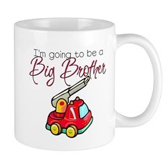 Firetruck Big Brother Mug