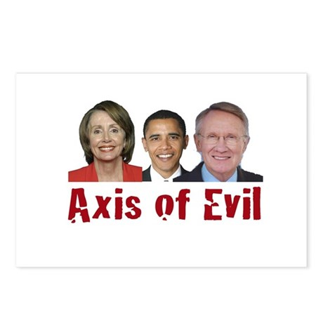 Axis of Evil Postcards (Package of 8)