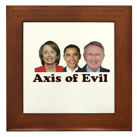 Axis of Evil Framed Tile