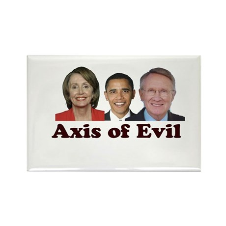 Axis of Evil Rectangle Magnet