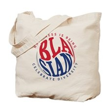 Happiness is Being Blasian Tote Bag