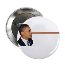 "Obama-nocchio 2.25"" Button"