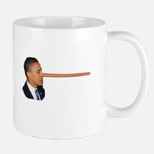 Obama-nocchio Mug