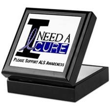 I Need A Cure ALS Keepsake Box