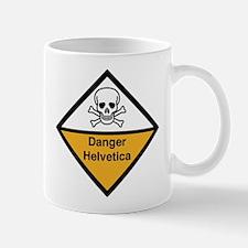Danger: Helvetica Mug