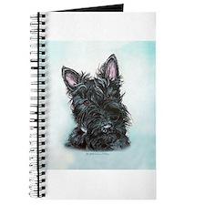 Scottish Terrier Portrait Journal
