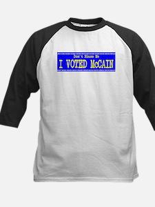 Don't Blame Me I Voted McCain Tee