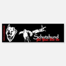 Schutzhund - Get your bite on - Bumper Bumper Bumper Sticker