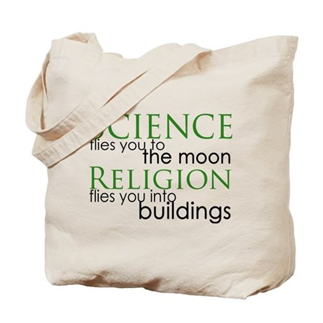 Science and Religion Tote Bag