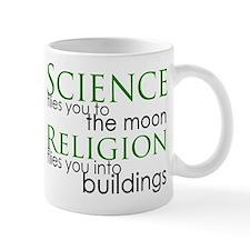Science and Religion Small Mug