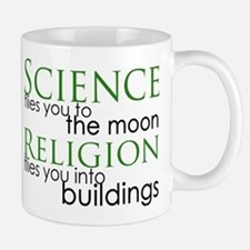Science and Religion Small Small Mug
