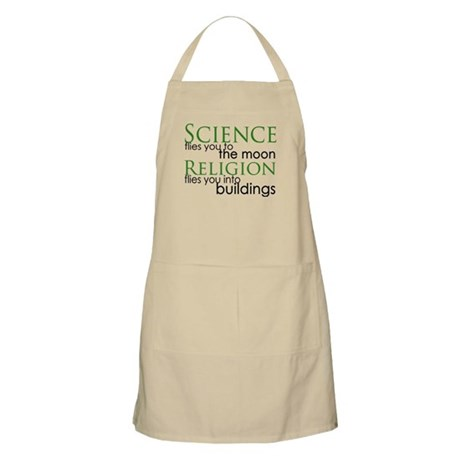 Science and Religion BBQ Apron