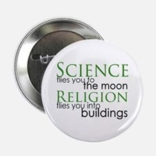 """Science and Religion 2.25"""" Button"""
