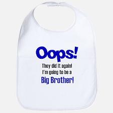 Oops Big Brother Bib