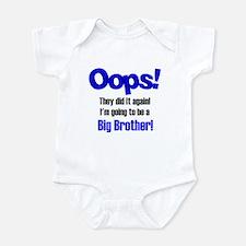 Oops Big Brother Infant Bodysuit