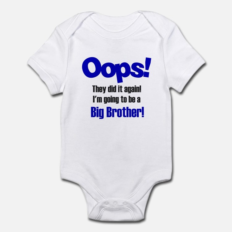 Oops Big Brother Infant Bodysuit
