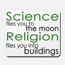 Science and Religion Mousepad