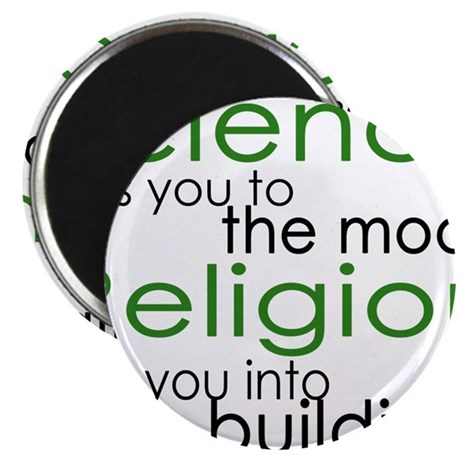 Science and Religion Magnet