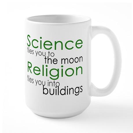 Science and Religion Large Mug
