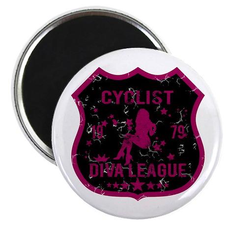 Cyclist Diva League Magnet