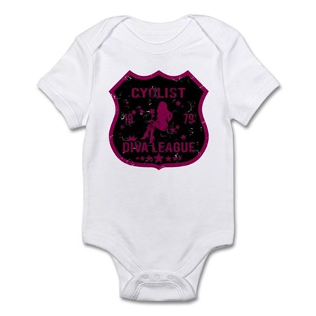 Cyclist Diva League Infant Bodysuit
